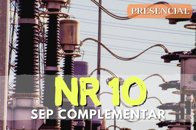 Curso NR 10 SEP Complementar – 40h